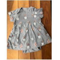 Vestido coelhinho - 9 a 12 meses - BB Básico