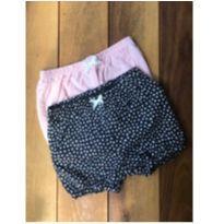 Conjunto 2 shorts - 9 a 12 meses - Carter`s