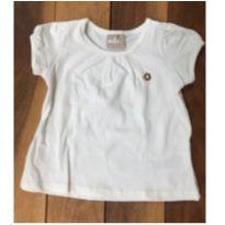 Blusa branca - 6 a 9 meses - Milon