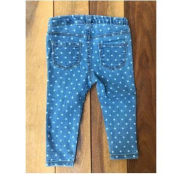 Jegging jeans poá - 9 a 12 meses - OshKosh