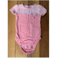 Body rosa ursinho - 18 meses - Carter`s