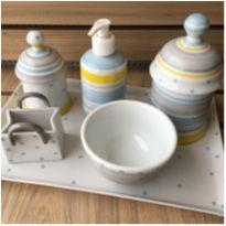 Kit higiene porcelana sweet- Liliane Garmes -  - Liliane Garmes