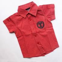 Camisa xadrez Camisa Xadrez Menino P (6-9 meses) Trick Nick - 6 a 9 meses - Trick Nick