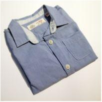 Camisa manga comprida Zara Baby nunca usada 18-24 meses - 18 a 24 meses - Zara e Zara Baby