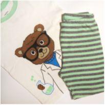 Pijama manga curta carter`s 2t - 18 a 24 meses - Carter`s