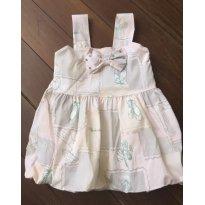 Vestido Balone - 6 a 9 meses - Pituchinhus