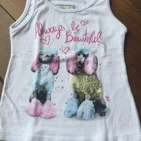 Camiseta Regata - 9 a 12 meses - Marisol