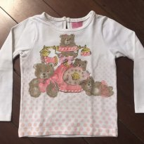 Blusinha manga longa ursinhas - 2 anos - Momi