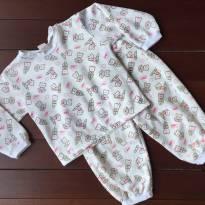 Pijama de Ursinhos - 3 anos - Tampinha