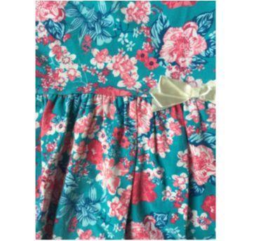 Vestido Floral - 3 anos - DILA