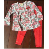 Conjunto Blusa e Calça - 3 anos - Milon