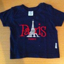 Camiseta Paris (francesa) - 12 a 18 meses - France