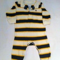 Macacão Pólo - Ralph Lauren - 6 meses - Ralph Lauren