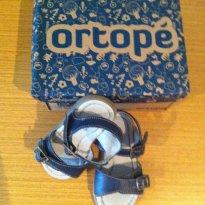 Sandália de couro Ortopé - 19 - Ortopé