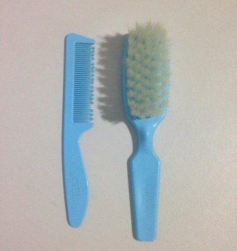 Kit de escova e pente - Sem faixa etaria - Lillo