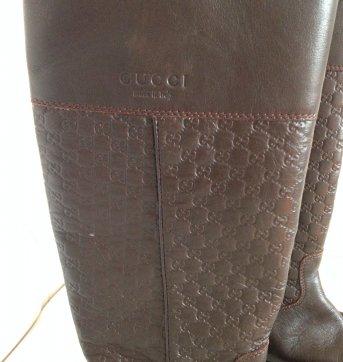 Bota Gucci Marrom (original) - 31 - Gucci
