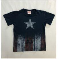 Camiseta  Capitão América - Avengers - 6 anos - Outros