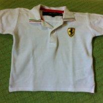 Pólo Ferrari - 12 a 18 meses - Ferrari