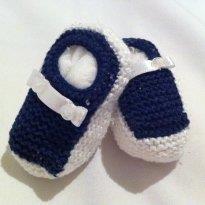 Sapatinho Crochet  - C/ DESCONTO 10% - 13 - Babbete Bebê