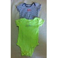 2 Body`s (verde e marinho) - Carter`s - 9 a 12 meses - Carter`s