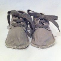 Sapatinho de tecido Gap - 13 - Baby Gap