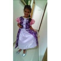 Rapunzel - 6 anos - Artesanal