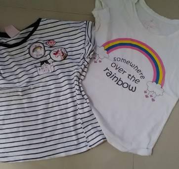 Kit camisetas - 6 anos - Palomino