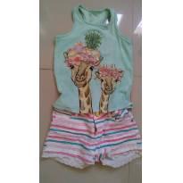 Conjunto girafa