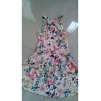 Vestido floral - 12 anos - Rovitex