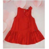 Vestido vermelho Mon Sucre - 8 anos - Mon Sucré