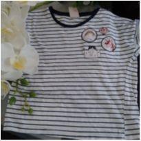 Camiseta unicórnio - 6 anos - Palomino