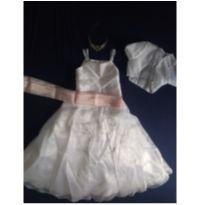 Vestido dama de honra - 10 anos - Artesanal