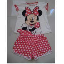 Pijama Minnie - 8 anos - Palomino