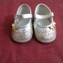 Sapato princesa Glitter - 18 - Não informada