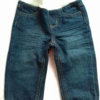 Calça jeans fashion - 6 a 9 meses - Não informada