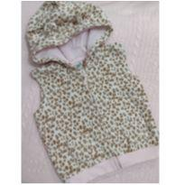 Colete oncinha rosa bb - 12 a 18 meses - Baby fashion; Teddy boom