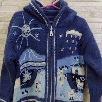 Casaco lã bordado - 24 a 36 meses - Marca não registrada
