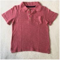 Camisa polo rosa - 3 anos - Carter`s