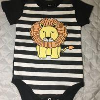Body da básica baby novo - 9 a 12 meses - Basic + Baby