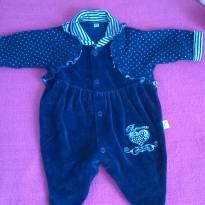 Macacão azul  de princesuxa ❤ - Recém Nascido - Não informada