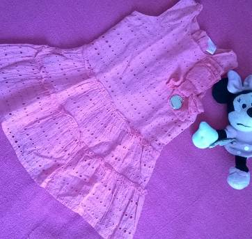 Vestido Hello Kitty baby - 9 a 12 meses - Hello Kitty by Sanrio