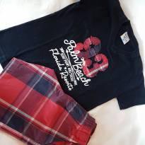 Conjunto Verão Camiseta + Bermuda Masculino - 2 anos - Pulla Bulla