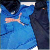 Conjunto Esportivo Azul Puma - 2 anos - Puma
