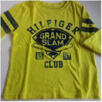 Camiseta Manga Longa Menino Tommy Hilfiger - 24 a 36 meses - Tommy Hilfiger