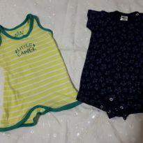 Kit romper - 3 a 6 meses - Tip Top