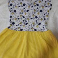 Vestido minion - 3 anos - Meu Malvado Favorito 2