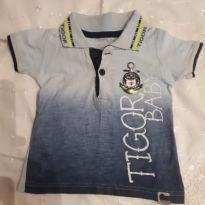 Polo tigor - 3 a 6 meses - Tigor Baby