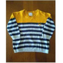Cardigan Listradinho - 9 a 12 meses - Hering Kids