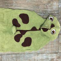 Roupao Dinossaruso verde Bebê Basico - 24 a 36 meses - Feito à mão