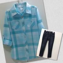 Blusa GUESS / Calça Jeans GUESS - 8 anos - Guess